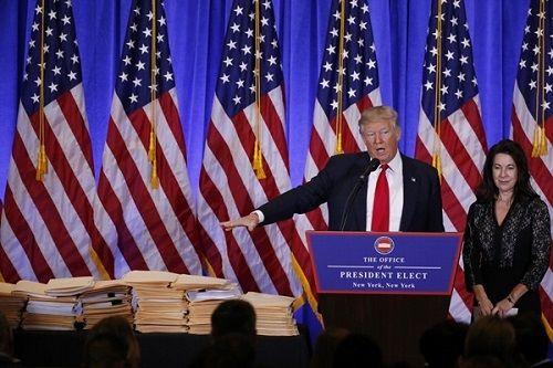 Toàn cảnh Trump họp báo lần đầu kể từ khi đắc cử: Nga đã tấn công mạng Mỹ - Ảnh 1