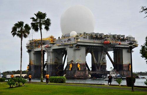Mỹ triển khai radar hiện đại trên biển đối phó tên lửa Triều Tiên - Ảnh 1