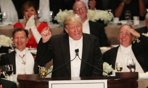 Hé lộ thực đơn tiệc trưa nhậm chức của Trump - Ảnh 1