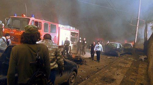 Đánh bom xe tại Syria, hơn 110 người thương vong - Ảnh 1