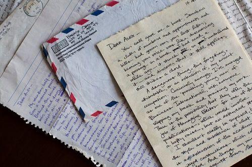 Hé lộ thư ông Obama gửi bạn gái thời đại học - Ảnh 1