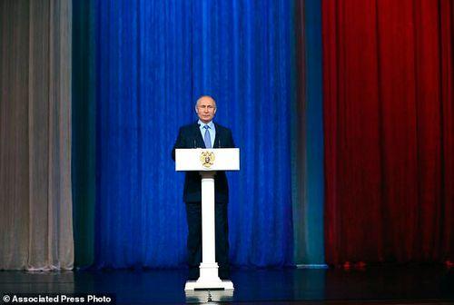 Tổng thống Putin: Hơn 60 âm mưu khủng bố nhằm vào Nga năm 2017