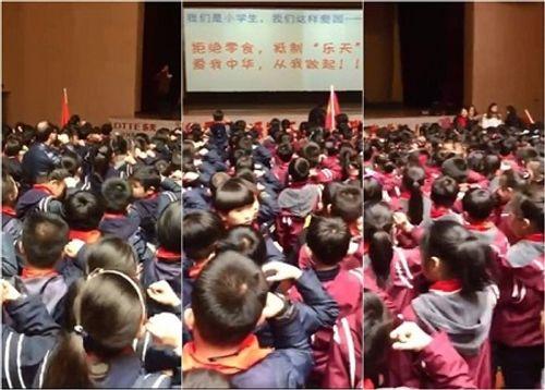 Học sinh tiểu học ở Trung Quốc cam kết tẩy chay Hàn Quốc - Ảnh 1