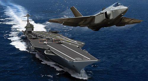 Mỹ nổ bom hơn 4 tấn thử độ bền tàu sân bay đắt và uy lực nhất hành tinh - Ảnh 1