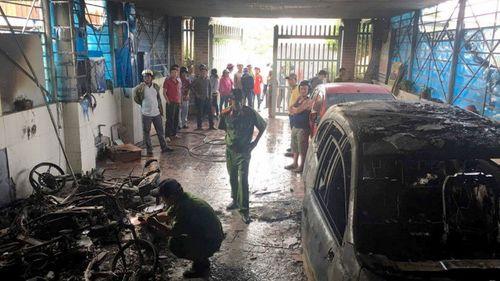 Cháy khách sạn tại Bình Thuận, nhiều khách hoảng loạn nhảy lầu - Ảnh 1