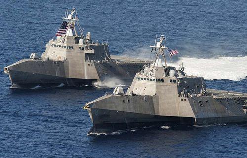 Mỹ điều 2 tàu chiến tới Qatar giữa khủng hoảng vùng Vịnh - Ảnh 1