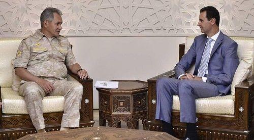 Bộ trưởng Quốc phòng Nga hội đàm với Tổng thống Syria Bashar Assad - Ảnh 1