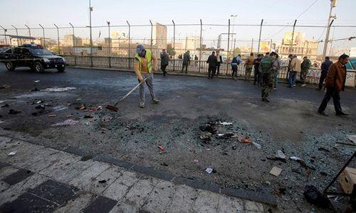 Đánh bom kép tại Iraq khiến 91 người thương vong - Ảnh 1
