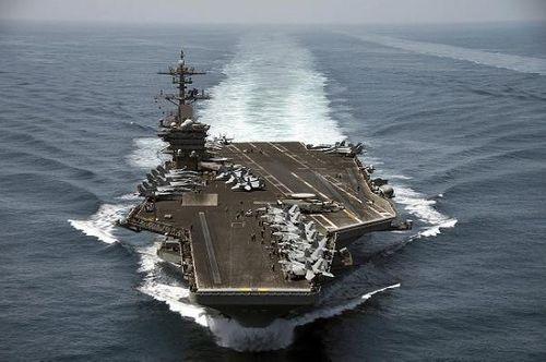 Bộ Ngoại giao lên tiếng về việc tàu sân bay Mỹ thăm Việt Nam - Ảnh 1