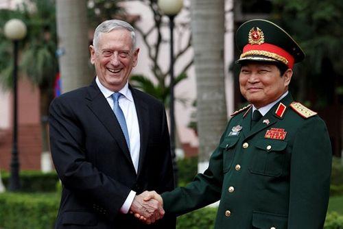 Bộ trưởng Quốc phòng Mỹ Mattis chúc đội tuyển U23 Việt Nam thi đấu tốt - Ảnh 2