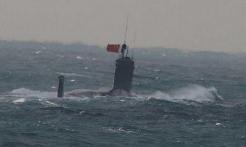 Nguyên nhân tàu ngầm của Trung Quốc tàng hình nhưng vẫn bị phát hiện - Ảnh 1