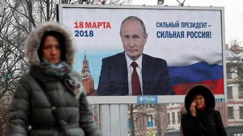 Điện Kremlin: Tổng thống Putin không có đối thủ về chính trị - Ảnh 1