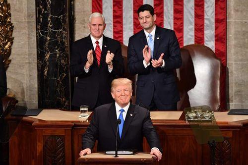 Tổng thống Trump đọc Thông điệp Liên bang đầu tiên - Ảnh 3