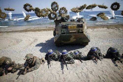 Hàn Quốc và Mỹ công bố thời điểm tập trận chung - Ảnh 1
