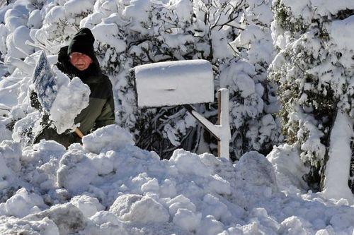 'Bom bão tuyết' đổ bộ nước Mỹ, 22 người thiệt mạng - Ảnh 3