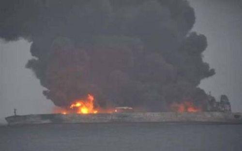 Mỹ điều máy bay trinh sát tìm thủy thủ tàu dầu mất tích ngoài khơi Trung Quốc - Ảnh 1