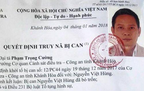 Truy nã giám đốc công ty bất động sản ở Nha Trang - Ảnh 1