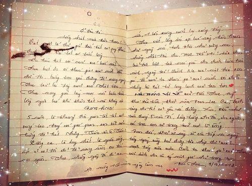 """Hiền Thục viết thư tay kể về 5 năm """"phận tằm thoát xác thành bướm"""" - Ảnh 3"""