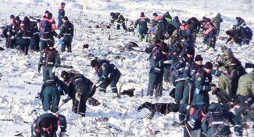 Phát hiện gần 1.500 mảnh thi thể nạn nhân vụ rơi máy bay Nga - Ảnh 1