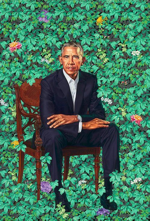 Ngắm bức chân dung chính thức của vợ chồng ông Obama - Ảnh 2