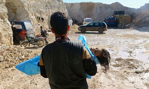 Khủng bố tại Syria âm mưu tấn công bằng vũ khí hóa học? - Ảnh 1