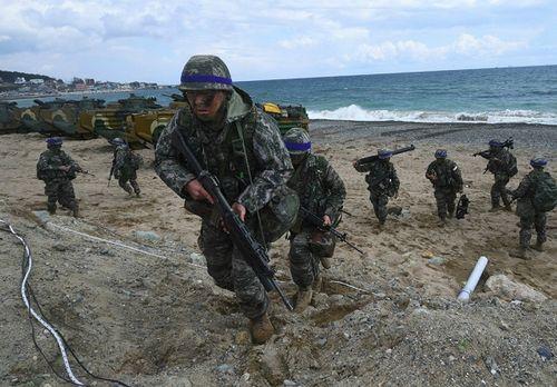 Mỹ - Hàn sẽ nối lại tập trận quy mô lớn từ 1/4 - Ảnh 1