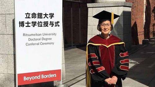 Cụ bà Nhật Bản trở thành tiến sĩ ở tuổi 88 - Ảnh 1