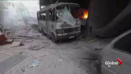 Nhà Trắng cáo buộc Nga giết dân thường ở Syria - Ảnh 1