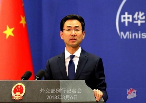 Trung Quốc lên tiếng về chuyến thăm Việt Nam của tàu sân bay Mỹ - Ảnh 1