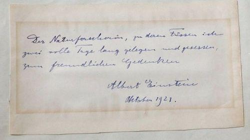 Thư tình của Albert Einstein có giá gần 140 triệu - Ảnh 1