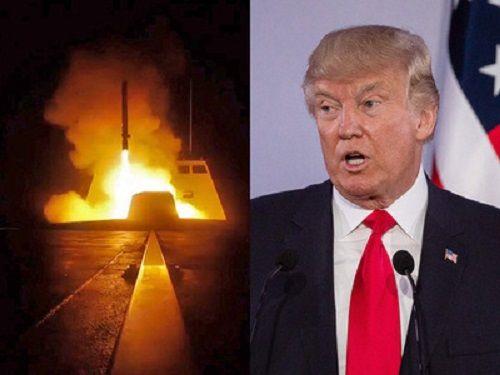 Ông Trump tuyên bố cuộc không kích Syria 'diễn ra hoàn hảo' - Ảnh 1
