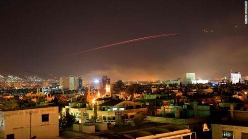 Mỹ, Anh, Pháp tấn công Syria - Ảnh 4