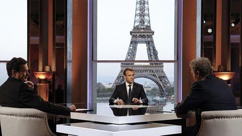 Tổng thống Macron tuyên bố Mỹ, Anh, Pháp có 'quyền hợp pháp' tấn công Syria - Ảnh 1