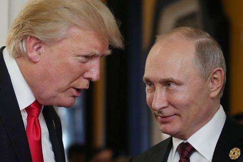 Ông Trump mời ông Putin đến Nhà Trắng - Ảnh 1