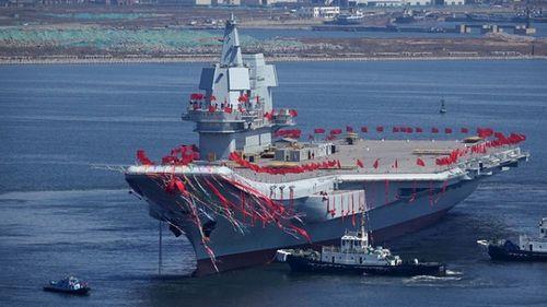 Trung Quốc chuẩn bị thử nghiệm tàu sân bay tự đóng - Ảnh 1