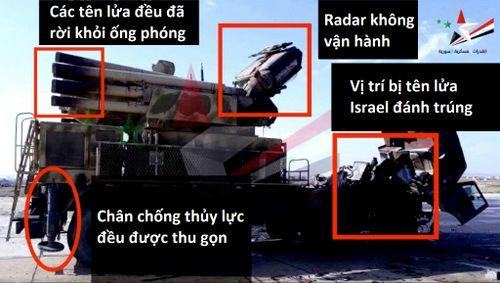 Tiết lộ hình ảnh tổ hợp Pantsir-S1 trúng tên lửa Israel - Ảnh 1