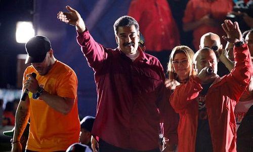 Ông Maduro tái đắc cử tổng thống Venezuela, Mỹ không công nhận - Ảnh 1
