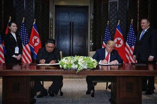 Ông Trump tuyên bố lệnh trừng phạt Triều Tiên chưa được dỡ bỏ - Ảnh 6