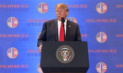 Ông Trump tuyên bố lệnh trừng phạt Triều Tiên chưa được dỡ bỏ - Ảnh 4