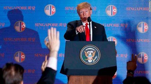 Ông Trump tuyên bố lệnh trừng phạt Triều Tiên chưa được dỡ bỏ - Ảnh 2