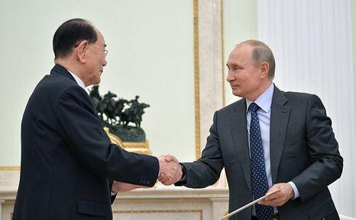 """Hé lộ nội dung bức thư """"ngoại cỡ"""" ông Kim Jong-un gửi ông Vladimir Putin - Ảnh 1"""