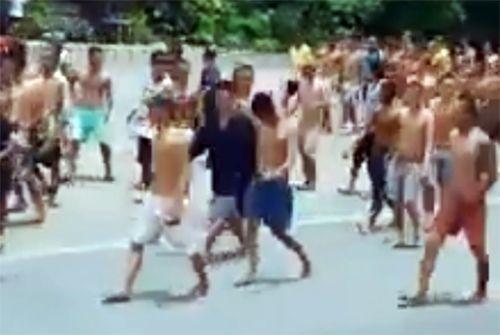 Hàng trăm học viên cai nghiện ở Tiền Giang trốn trại, lấy xe đạp của dân bỏ chạy - Ảnh 2