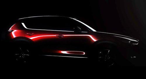 Hình ảnh đầu tiên về Mazda CX-5 thế hệ mới - Ảnh 1