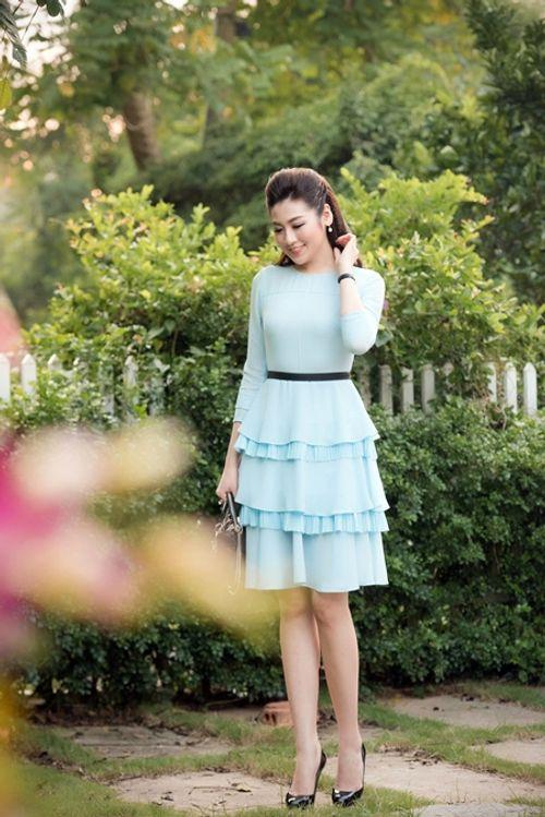 Dàn người đẹp đến mừng Hoa hậu Ngọc Hân khai trương showroom thời trang - Ảnh 6