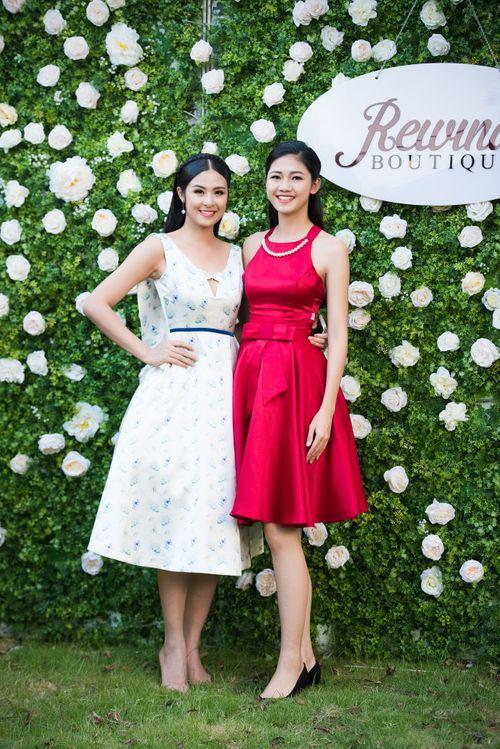 Dàn người đẹp đến mừng Hoa hậu Ngọc Hân khai trương showroom thời trang - Ảnh 3