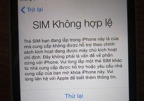 iPhone bị khóa mạng, người dùng Việt Nam hoang mang - Ảnh 1