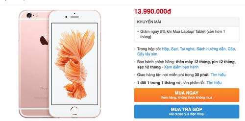 Đón iPhone 7, iPhone 6S chính hãng giảm mạnh tới 3 triệu đồng - Ảnh 1