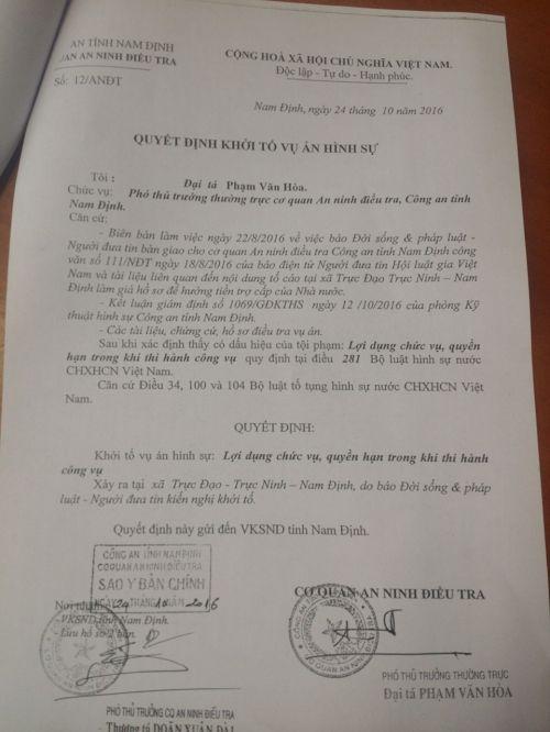 CA khởi tố vụ án sau loạt bài điều tra của báo Đời sống & Pháp luật - Ảnh 2