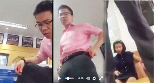 Bộ GD-ĐT chỉ đạo làm rõ vụ giáo sư nhảy lên bàn chửi tục học viên - Ảnh 1