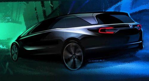 """Honda hé lộ Odyssey thế hệ mới """"hầm hố"""", cá tính - Ảnh 1"""